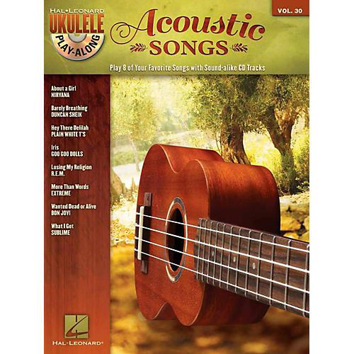 Hal Leonard Acoustic Songs - Ukulele Play-Along Vol. 30 Book/CD