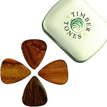 Timber Tones Acoustic Tin of 4 Guitar Picks