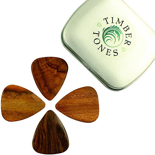timber tones acoustic tin of 4 guitar picks musician 39 s friend. Black Bedroom Furniture Sets. Home Design Ideas