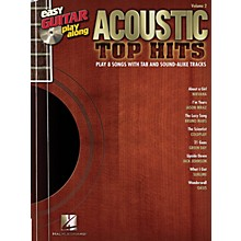 Hal Leonard Acoustic Top Hits Easy Guitar Play-Along Volume 2 Book/CD