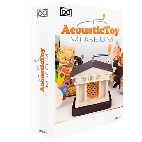 UVI Acoustic Toy Museum Vintage Retro Toys