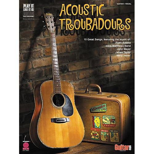 Cherry Lane Acoustic Troubadours Book