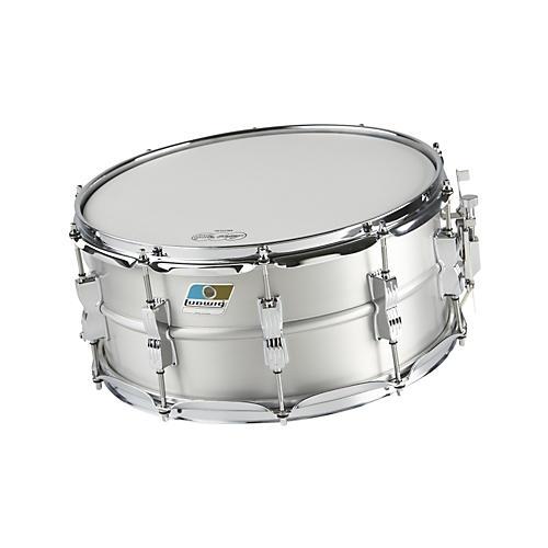 ludwig acrolite classic aluminum snare drum matte finish musician 39 s friend. Black Bedroom Furniture Sets. Home Design Ideas