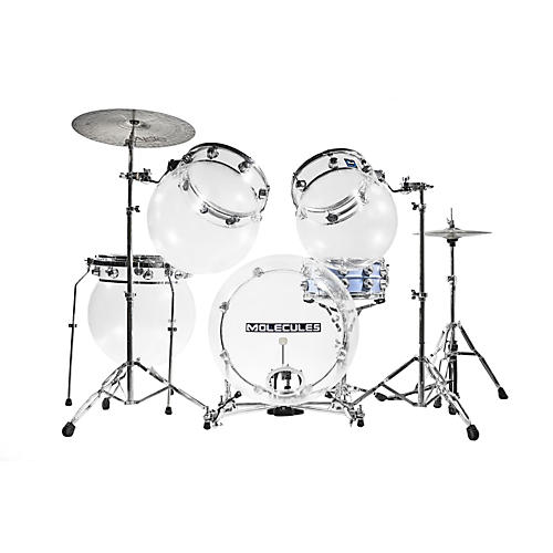Molecules Drums Acrylic 4-Piece Shell Pack