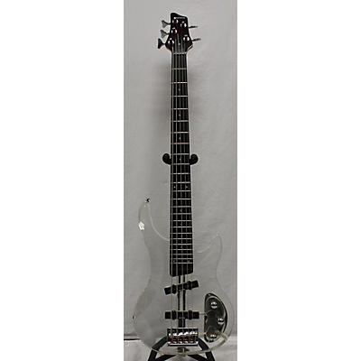 Galveston Acrylic Electric Bass Guitar