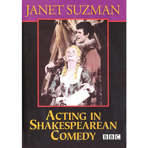 The Working Arts Library/Applause Acting in Shakespearean Comedy Applause Books Series DVD Written by Janet Suzman