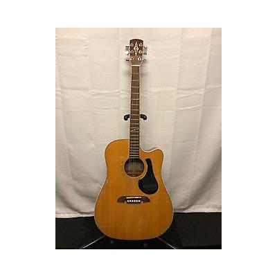 Alvarez Ad50sc Acoustic Electric Guitar