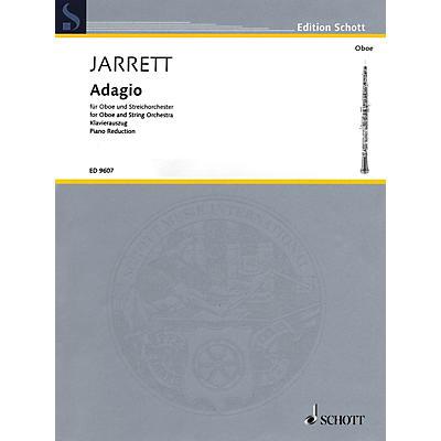 Schott Adagio (Oboe and Piano Reduction) Woodwind Series Book