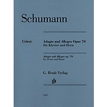 G. Henle Verlag Adagio and Allegro, Op. 70 Henle Music Folios Composed by Robert Schumann Edited by Ernst Herttrich
