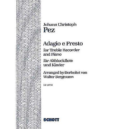 Schott Adagio and Presto Schott Series