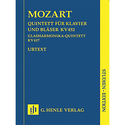 G. Henle Verlag Adagio and Rondo K617 Henle Study Scores Series Softcover Composed by Wolfgang Amadeus Mozart