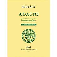 Editio Musica Budapest Adagio for Violoncello and Piano - New Edition EMB Series Softcover