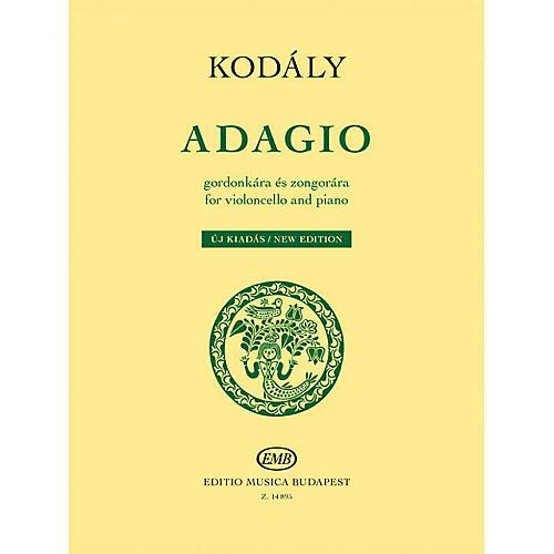 Editio Musica Budapest Adagio for Violoncello and Piano - New Edition EMB Series Softcover