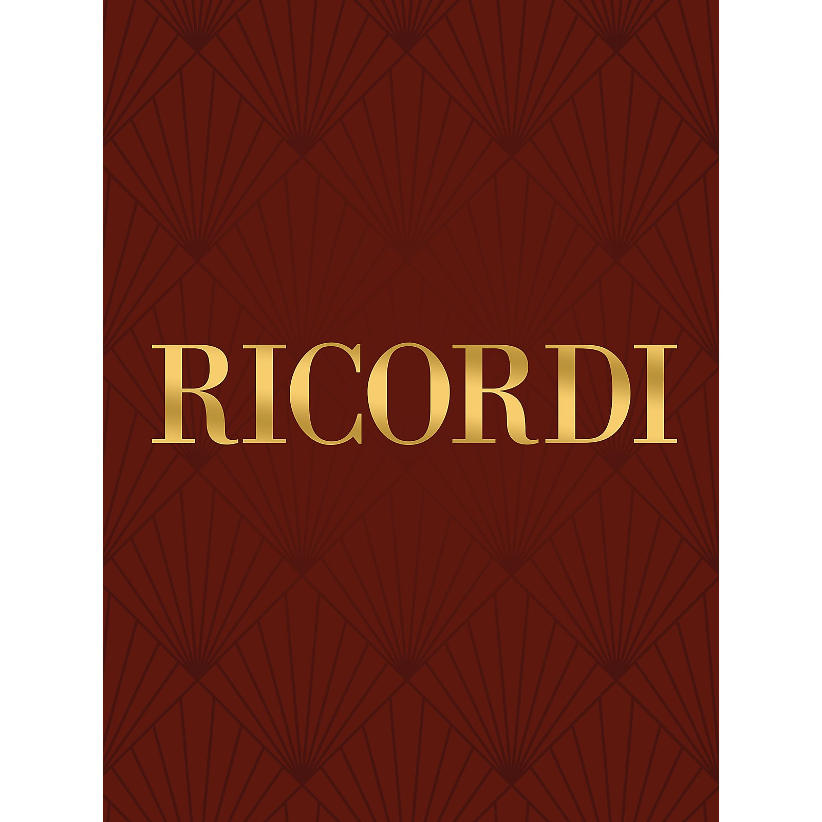 Ricordi Adagio in G minor Woodwind Solo Series  by Tomaso Giovanni Albinoni Edited by Remo Giazotto