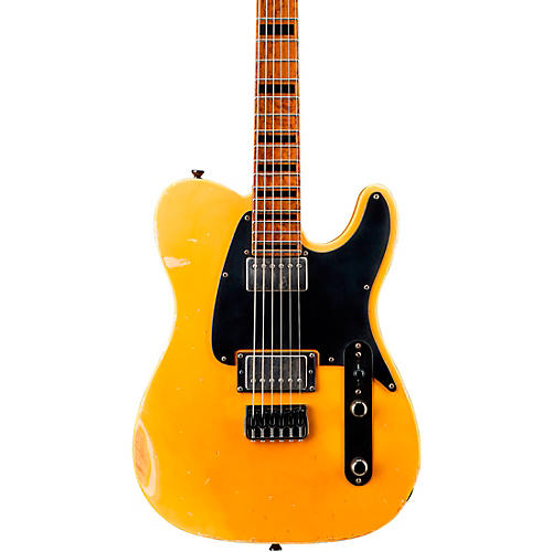LsL Instruments Adam Christianson Signature Baritone Electric Guitar Butterscotch