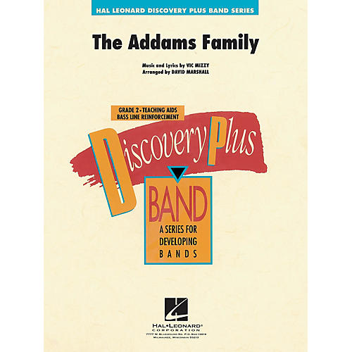 Hal Leonard Addams Family Theme, The - Discovery Plus Concert Band Series arranged by David Marshall