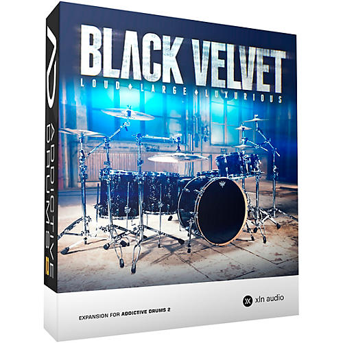 XLN Audio Addictive Drums 2  Black Velvet