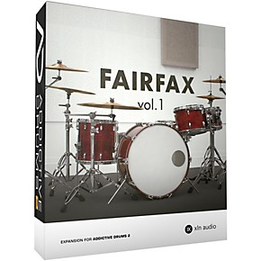 xln audio addictive drums 2 fairfax vol 1 software download musician 39 s friend. Black Bedroom Furniture Sets. Home Design Ideas