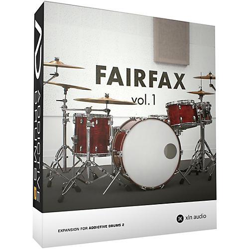 XLN Audio Addictive Drums 2  Fairfax Vol. 1