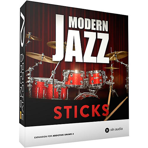 xln audio addictive drums 2 modern jazz sticks software download musician 39 s friend. Black Bedroom Furniture Sets. Home Design Ideas