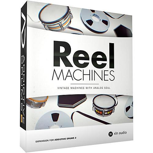 xln audio addictive drums 2 reel machines software download musician 39 s friend. Black Bedroom Furniture Sets. Home Design Ideas