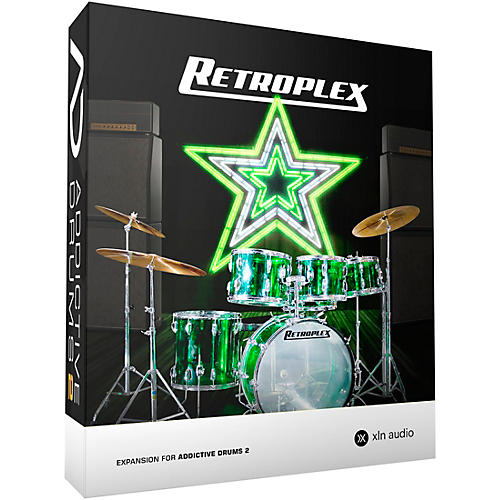 xln audio addictive drums 2 retroplex musician 39 s friend. Black Bedroom Furniture Sets. Home Design Ideas