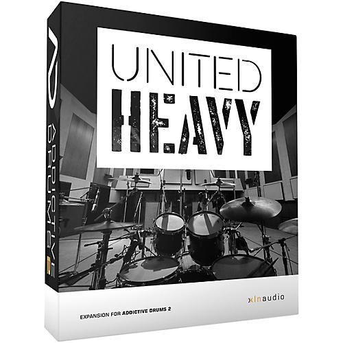 xln audio addictive drums 2 united heavy adpak musician 39 s friend. Black Bedroom Furniture Sets. Home Design Ideas