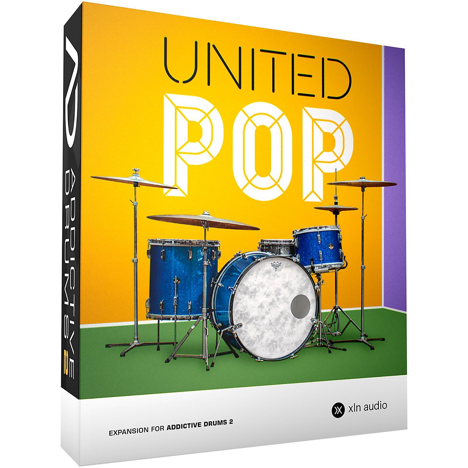 XLN Audio Addictive Drums 2: United Pop ADpak