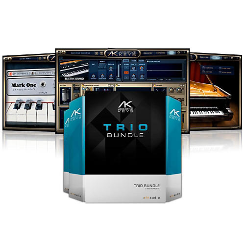 XLN Audio Addictive Keys: Trio Bundle Software Download
