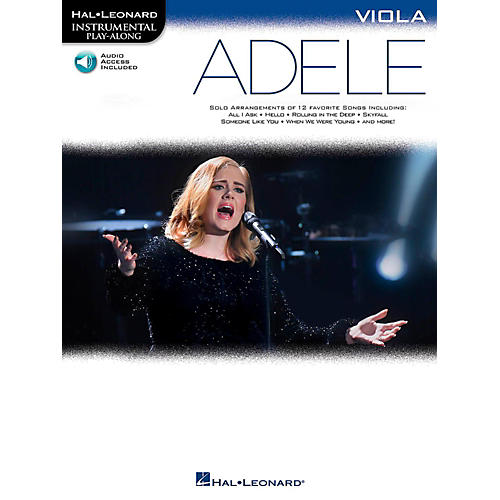 Hal Leonard Adele For Viola - Instrumental Play-Along