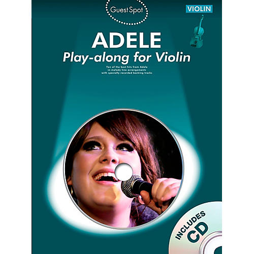 Music Sales Adele Play-Along For Violin Book/CD