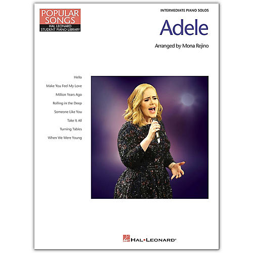 Hal Leonard Adele-Popular Songs Series-8 Beautiful Arrangements for Intermediate Piano Solo