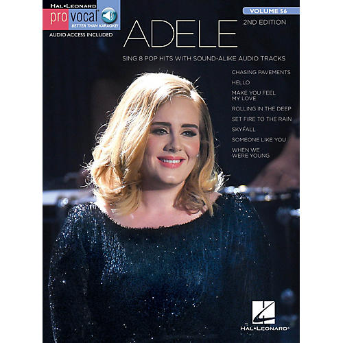 Hal Leonard Adele (Pro Vocal Women's Edition Volume 56) Pro Vocal Series Softcover Audio Online