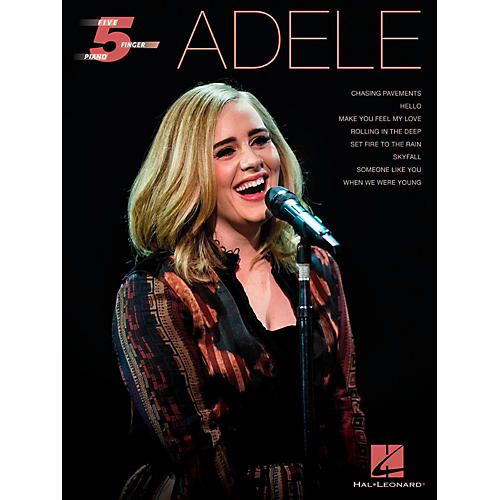 Hal Leonard Adele for Five-Finger Piano