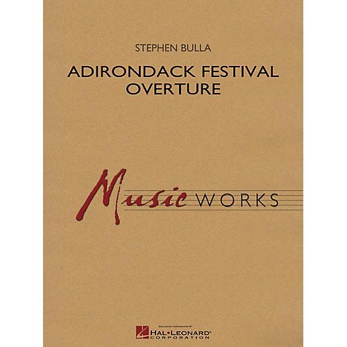 Hal Leonard Adirondack Festival Overture Concert Band Level 4 Composed by Stephen Bulla