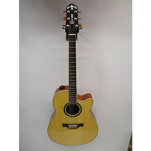 Crafter Guitars Admire Acoustic Electric Guitar Natural