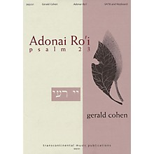 Transcontinental Music Adonai Ro'i (Psalm 23) SATB composed by Gerald Cohen