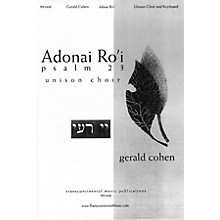 Transcontinental Music Adonai Ro'i (Psalm 23) UNIS composed by Gerald Cohen