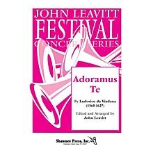 Shawnee Press Adoramus Te SATB composed by Ludovico da Viadana arranged by John Leavitt