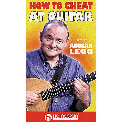 Homespun Adrian Legg - How to Cheat at Guitar (VHS)