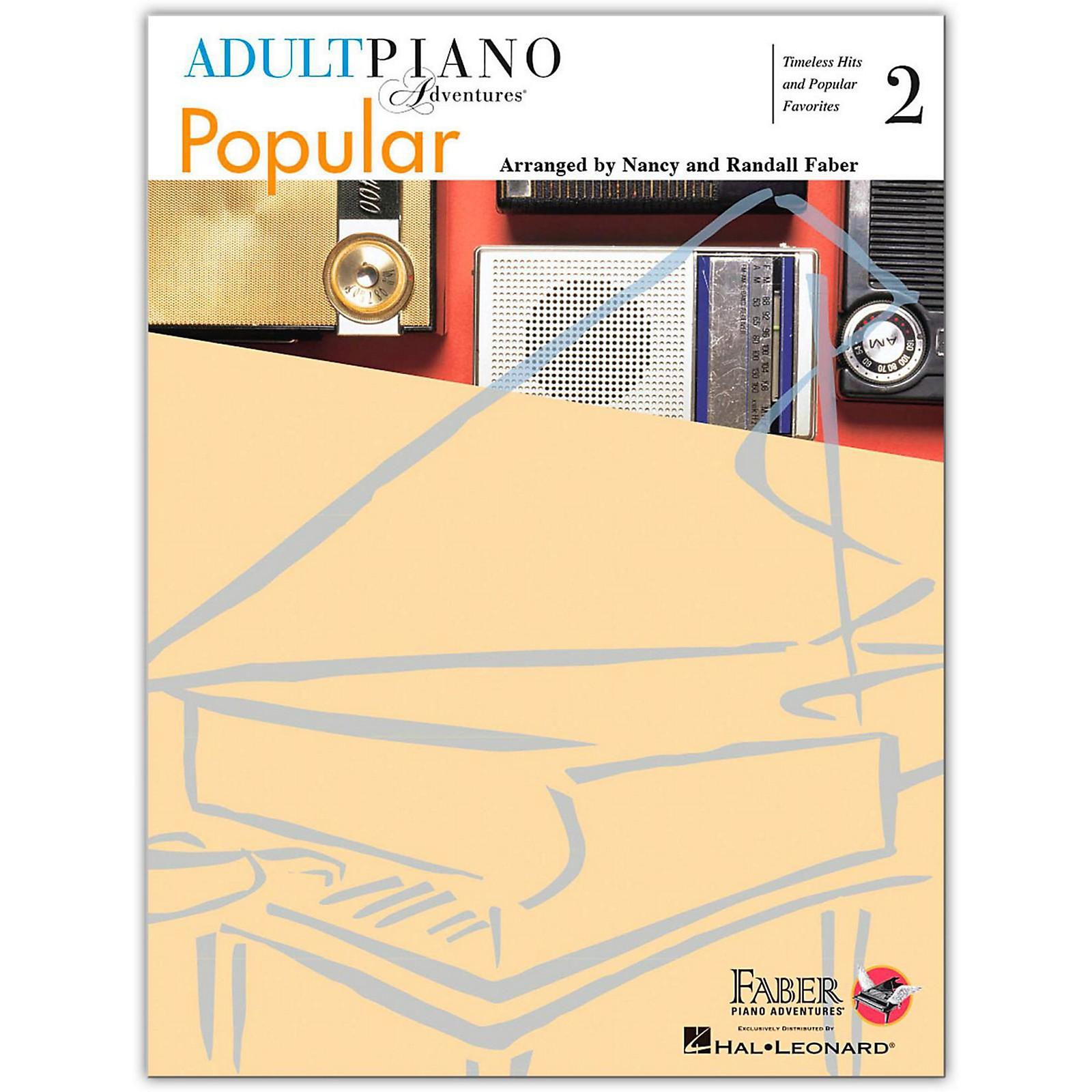 Faber Piano Adventures Adult Piano Adventures Popular Book 2 - Faber Piano Adventure