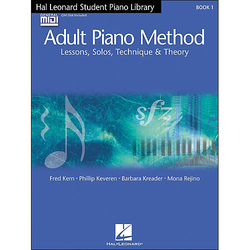 Hal Leonard Adult Piano Method Book 1 Book/GM disk pack Hal Leonard Student Piano Library
