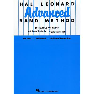Hal Leonard Advanced Band Method B Flat Cornet & Trumpet
