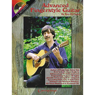 Centerstream Publishing Advanced Fingerstyle Guitar (Book/CD)