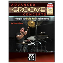 Alfred Advanced Groove Concepts Book & DVD-ROM Intermediate / Advanced
