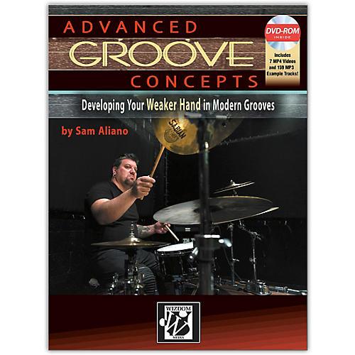 Alfred Advanced Groove Concepts Book & DVD-ROM Intermediate / Advanced