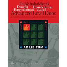 Editio Musica Budapest Advanced Level Duos EMB Series by Various