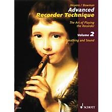 Schott Advanced Recorder Technique Schott Series Written by Gudrun Heyens