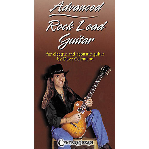 Centerstream Publishing Advanced Rock Lead Guitar VHS