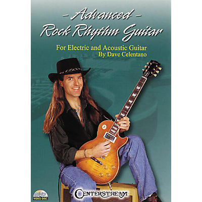 Centerstream Publishing Advanced Rock Rhythm Guitar (DVD)